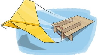 Build a Paper Airplane Launcher
