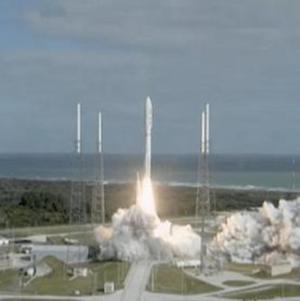 Next Stop, Mars! Huge NASA Rover Launches toward Red Planet