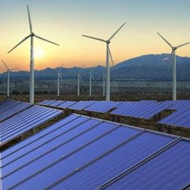 Windmill Solar panel