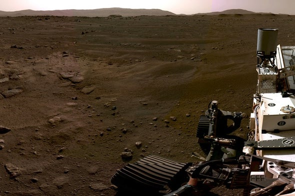 Mars Video Reveals Perseverance Rover's Daring Touchdown