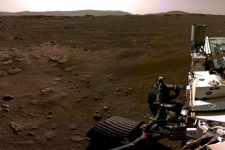 Mars Video Reveals Perseverance Rover