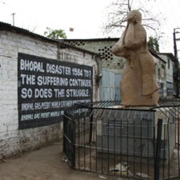 Poisoned Water Haunts Bhopal 25 Years after Chemical Accident