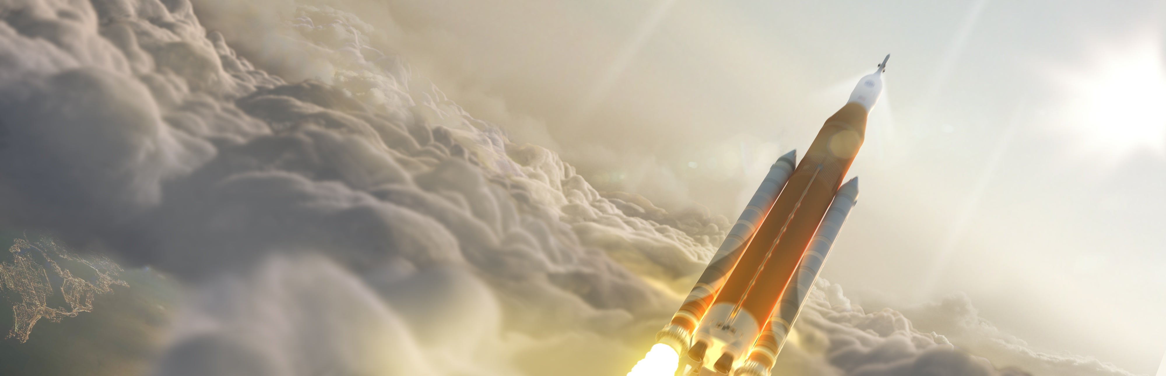 How Much Air Pollution Is Produced by Rockets? - Scientific