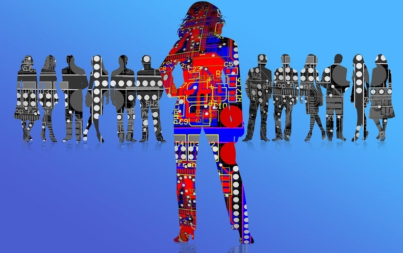 How a Machine Learns Prejudice