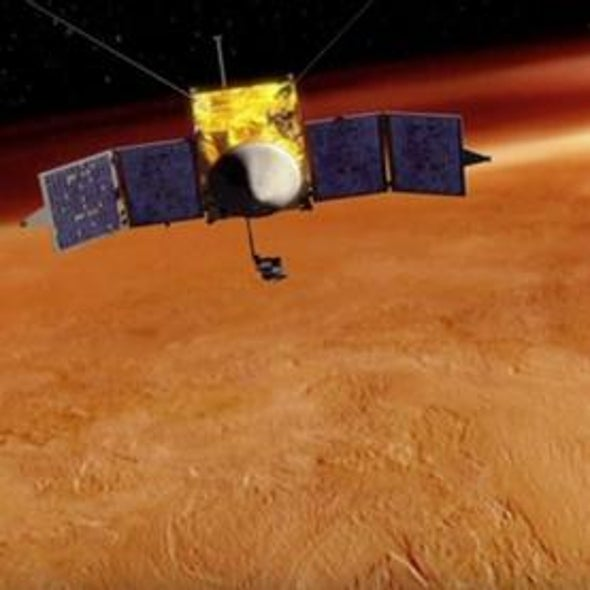 NASA Probe to Track Mars's Missing Atmosphere