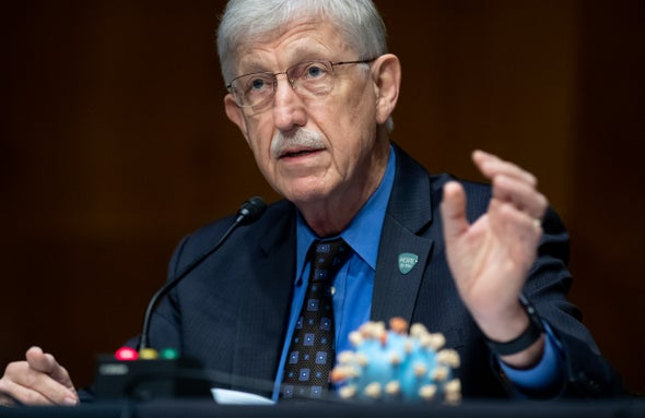 Francis Collins, Head of NIH Who Led Human Genome Project, to Step Down