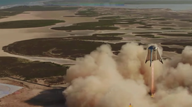 SpaceX Starhopper Rocket Prototype Aces Highest (and Final) Test Flight