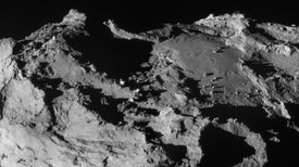 Life's Building-Block Chemicals Found on Comet by Lander