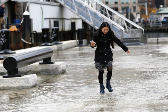 As Seas Rise, King Tides Increasingly Inundate the Atlantic Coast