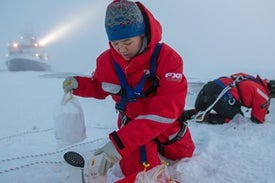 """Frozen in Dwindling Ice, a Historic Expedition Finds a """"New Arctic"""""""
