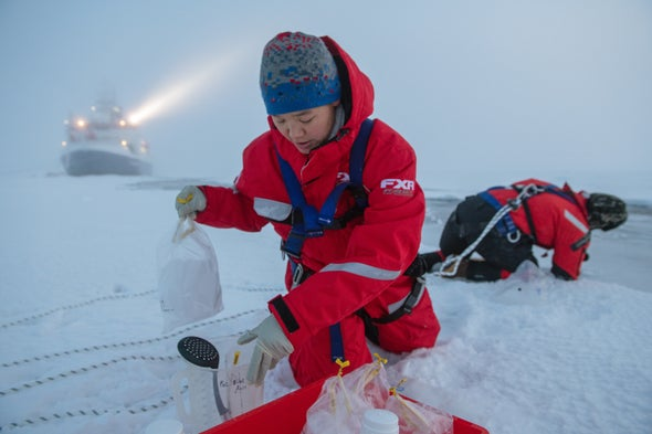 """Frozen in Dwindling Ice, an Historic Expedition Finds a """"New Arctic"""""""