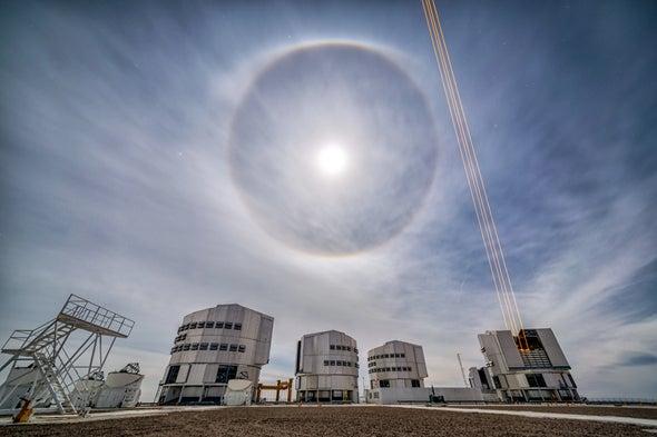 量子天文学可以制造数百公里宽的望远镜