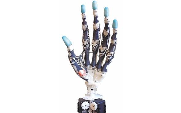 Tomorrow's Prosthetic Hand