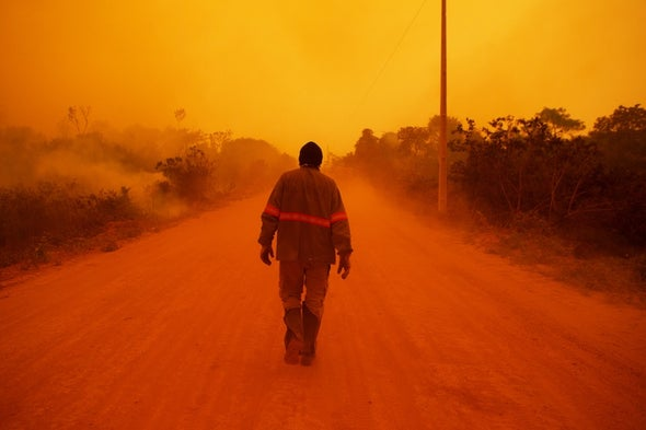'Apocalyptic' Fires Are Ravaging the World's Largest Tropical Wetland
