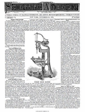 November 23, 1872