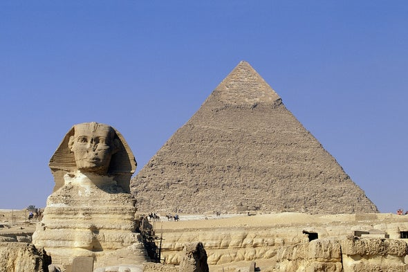 Physics Phenomenon Reveals a Pyramid's Mystery