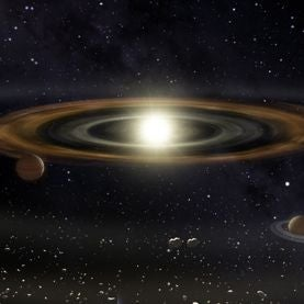 Mass Arrest: Jupiter's Early Migration Could Explain Mars's Small Size