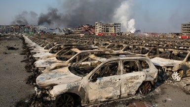 how dangerous is the sodium cyanide at the tianjin