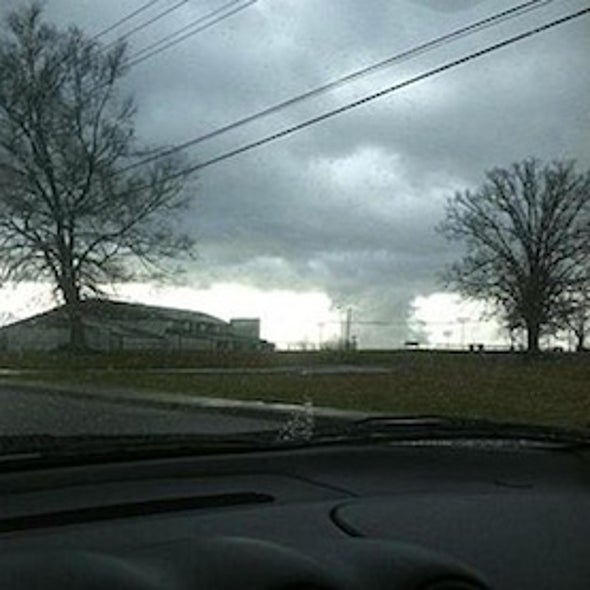 Live Blogging: Dangerous Tornado Outbreak in U.S. Midwest and South