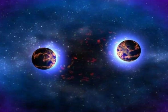 Scientists Trace Neutron Star Crash That Helped Form Our Solar System