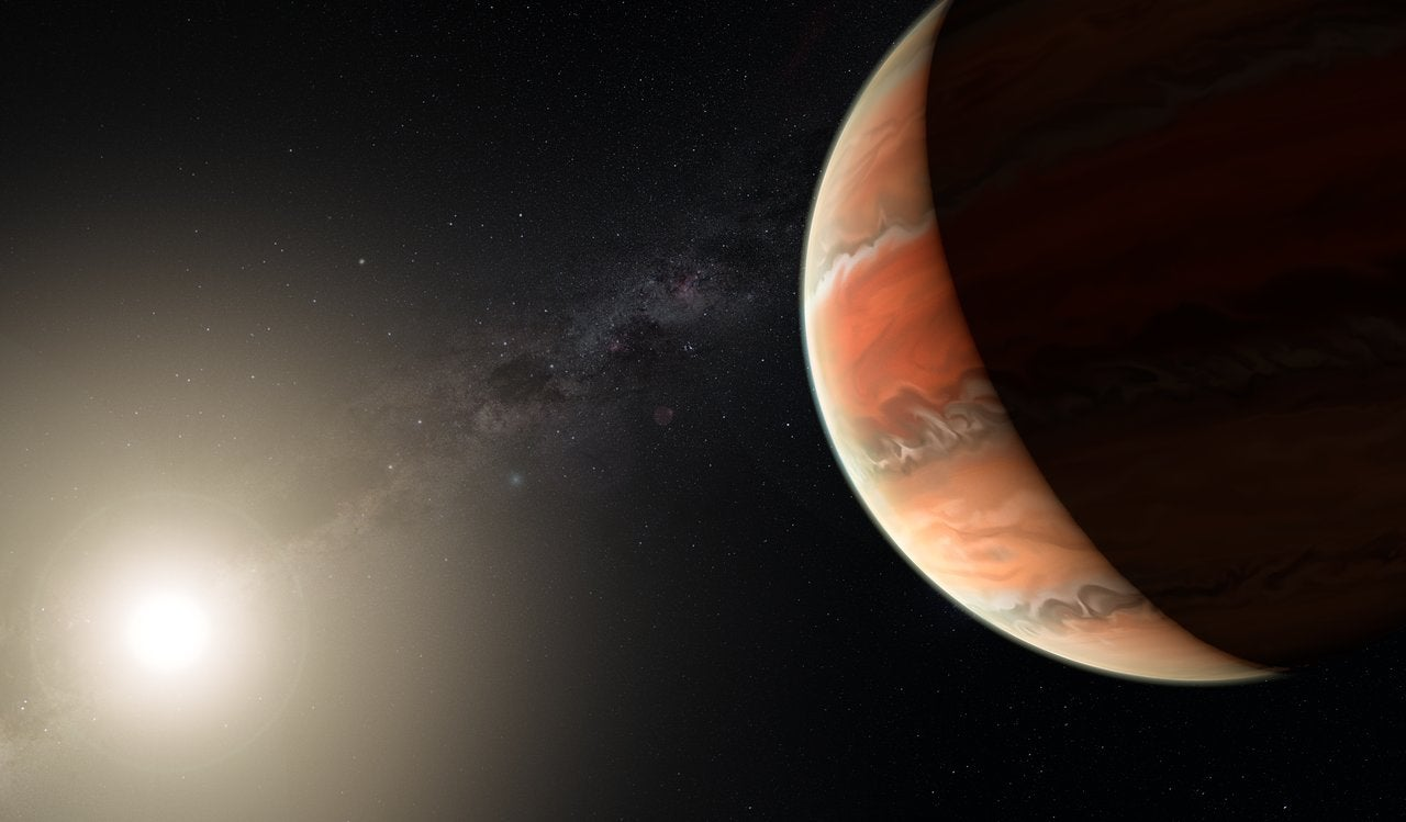 Astronomers have found iron and titanium in the atmosphere of exoplanets