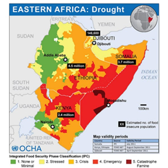 Nations Falling Short in Helping East African Famine Victims