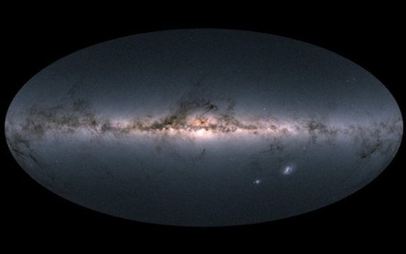 The Milky Way, Revealed as Never Before