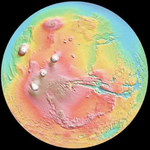 Mars Goes for a Spin--Or at Least Part of It Might