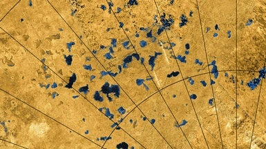 Titan's Lakes May Fizz with Nitrogen