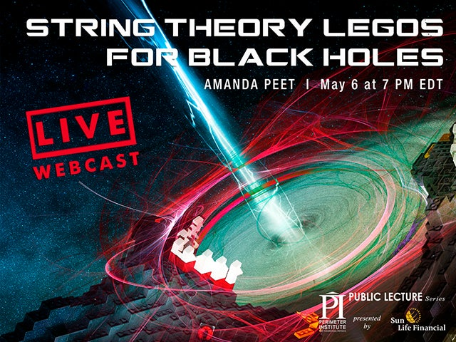 Watch Live Today: String Theory LEGOs for Black Holes [Video]