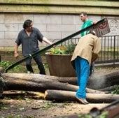 MEN AT WORK: