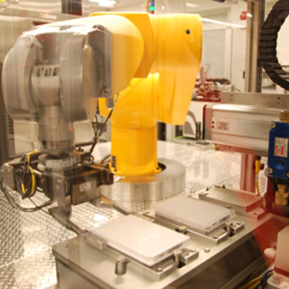 Robot Allows High-Speed Testing of Chemicals