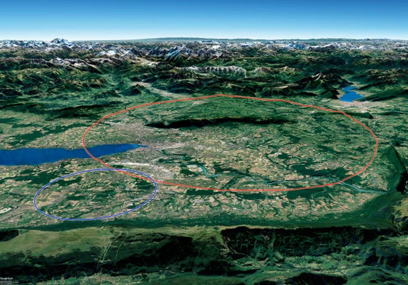 Physicists Lay Out Plans for a New Super-Collider