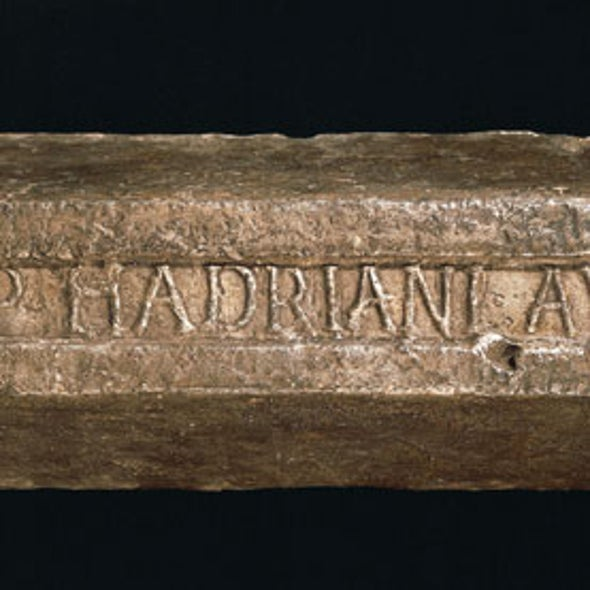 Ancient Roman Lead Melted Down to Explore the Frontiers of Physics