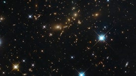 Did Galaxies Grow from Quantum Static?