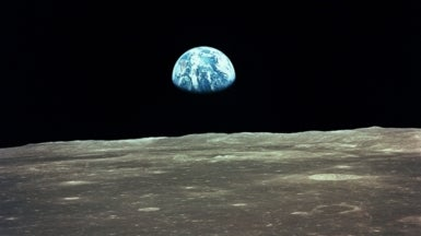 Lunar Rock Chemistry Argued to Reveal How the Moon Formed