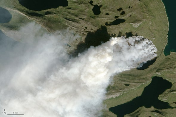 """Greenland's Biggest Fire Is a """"Warning"""" for Its Future"""