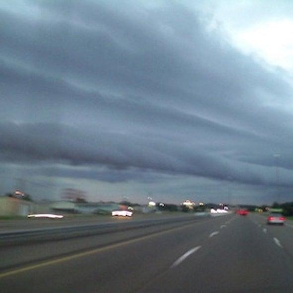 """Horizontal Tornado"" Captured by Amateur Videographer"