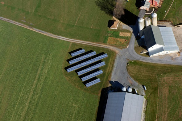 Farms Can Harvest Energy Along with Food