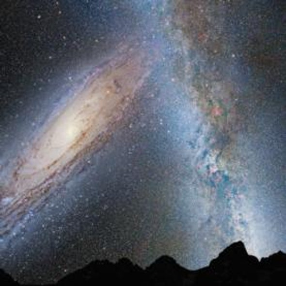 If the Universe Is Expanding, Why Are the Milky Way and Andromeda Galaxies on a Collision Course? [Video]