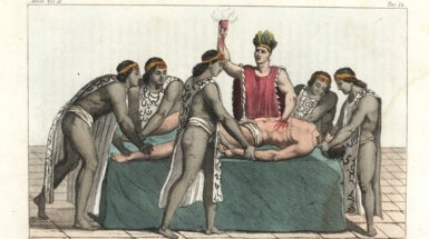 How Human Sacrifice Propped Up the Social Order