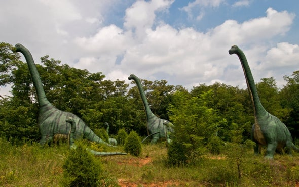 Dinosaurs Migrated out of Europe as Ancient Supercontinent Broke Up