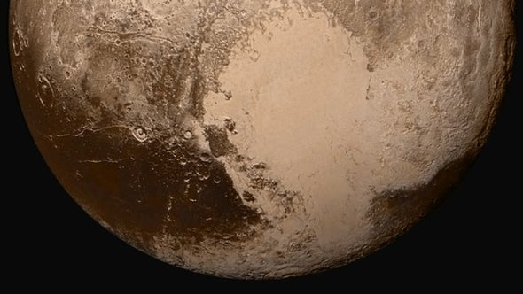 New Horizons Finds Nitrogen Glaciers and Hazy Air on Pluto