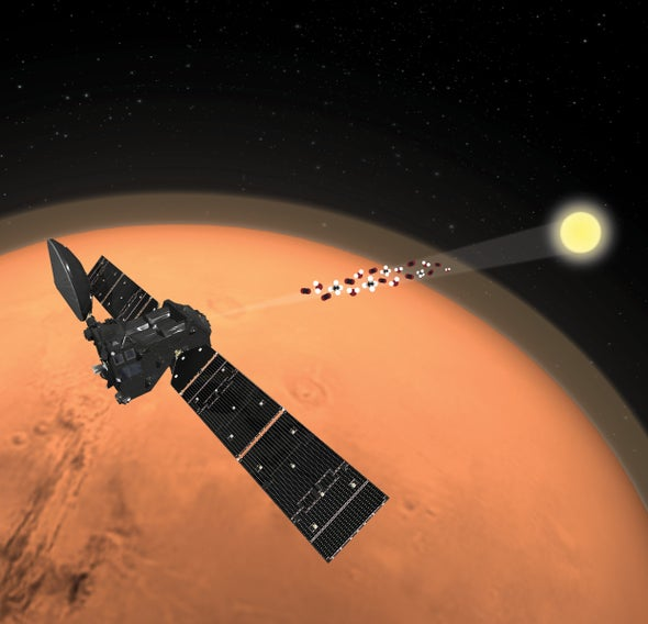 Mars Methane Hunt Comes Up Empty, Flummoxing Scientists