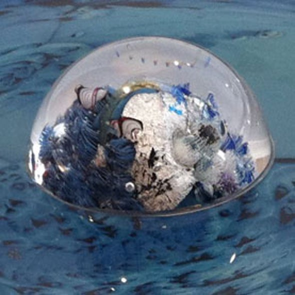 Artist Josh Simpson Makes Giant, Fiery Glass Planets, Coronas and Meteorites [Slide Show]