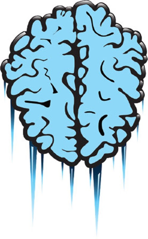 Blood-Flow Changes Cause Brain Freeze