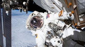 Space Station Dark Matter Experiment Gets Vital Repairs