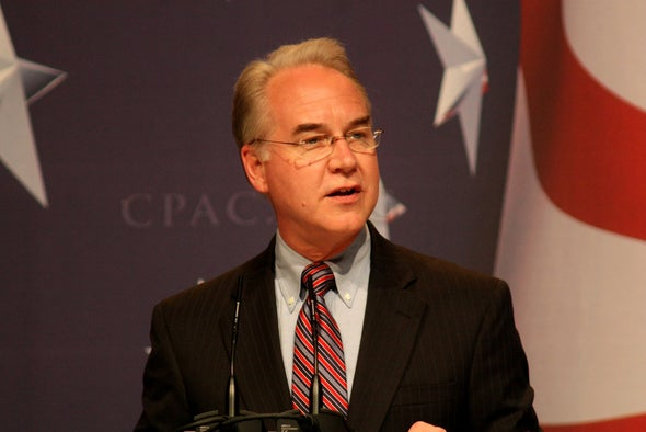 Trump's HHS Pick Well-Placed to Protect Doctors' Interests