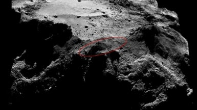 Plan Abandoned for Close Search This Month for Lost Comet Lander