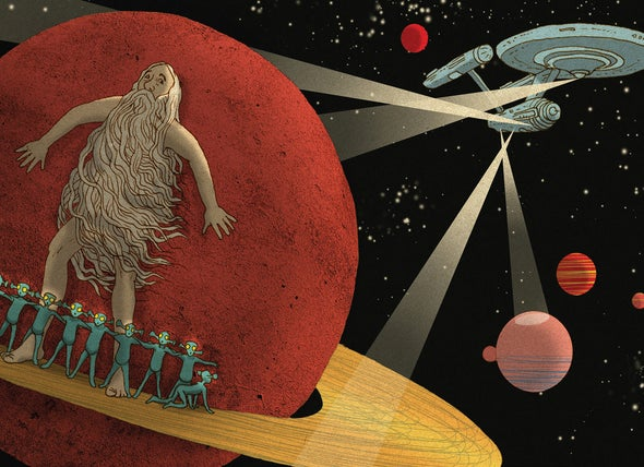 Belief in Aliens May Be a Religious Impulse